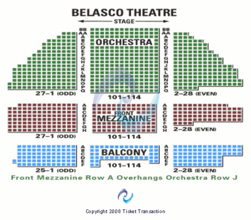 Belasco Theatre Tickets In New York Belasco Theatre