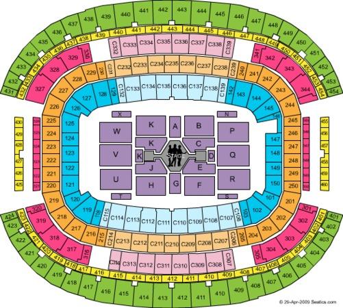 AT&T Stadium Jonas Brothers