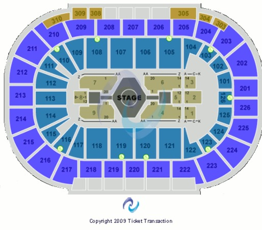 Mandalay Bay - Events Center Jonas Brothers
