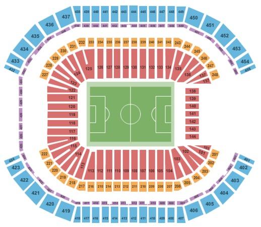 Fiesta Bowl Ticket >> University Of Phoenix Stadium Tickets in Glendale Arizona, Seating Charts, Events and Schedule