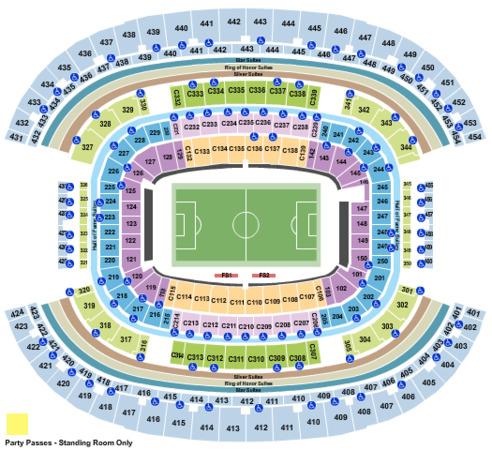 At Amp T Stadium Tickets In Arlington Texas At Amp T Stadium