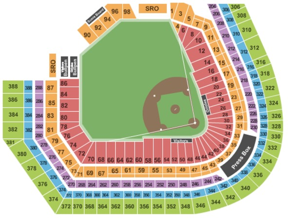 Oriole Park At Camden Yards Tickets In Baltimore Maryland
