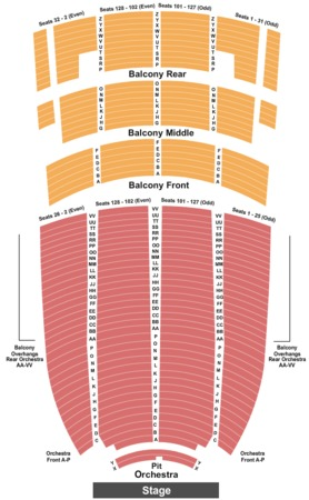 Paramount Theater Seattle Map.Paramount Theatre Tickets In Oakland California Paramount Theatre