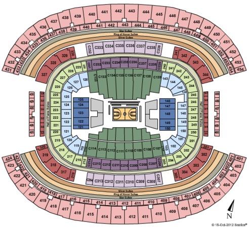 AT&T Stadium Basketball