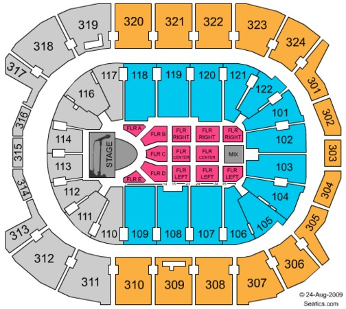 Air Canada Centre SYTYCD (CONSULT MAPS TEAM BEFORE USING)