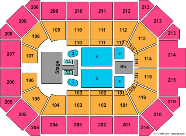 Allstate Arena Taylor Swift