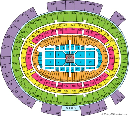 msg interactive seating chart rangers 2013