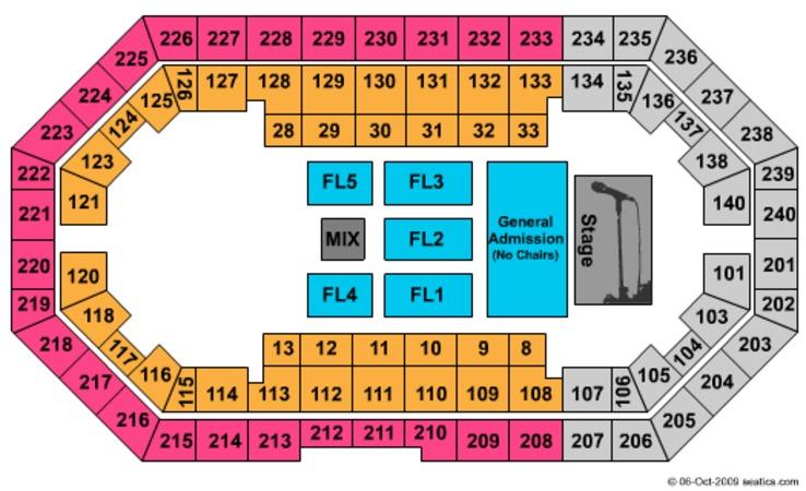 Broadbent Arena Seating Chart Car Interior Design