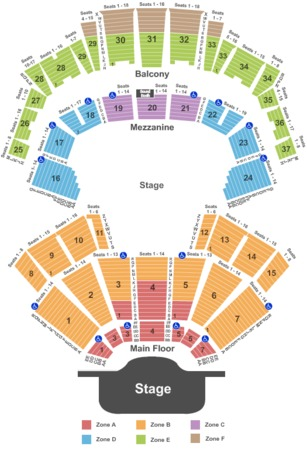 Grand Ole Opry Seating Chart