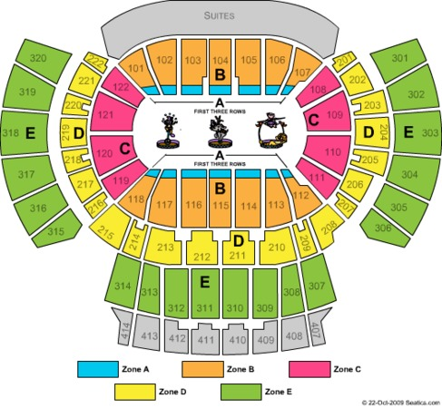 Philips Arena Ringling Zone