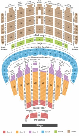 Oriental Theater Seating Chart  Car Interior Design