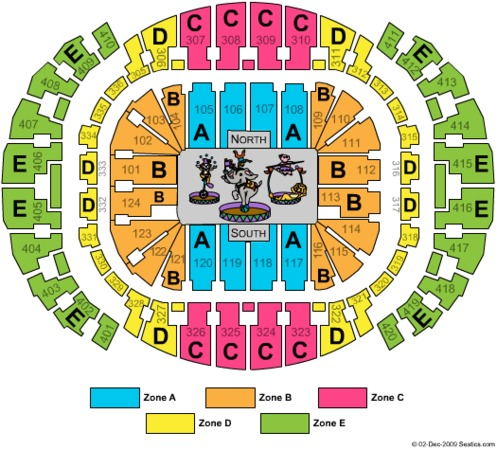 American Airlines Arena Tickets In Miami Florida Seating