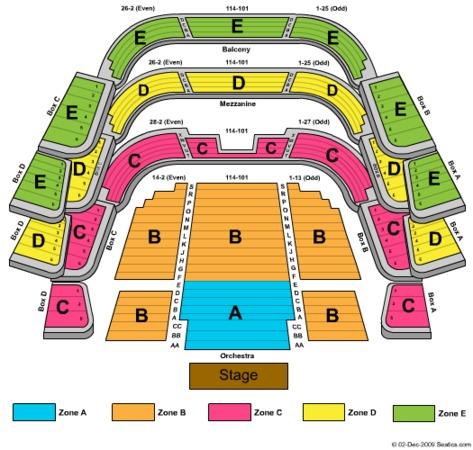Ferguson Hall - The Straz Center Tickets in Tampa Florida ...