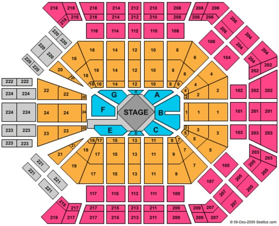 MGM Grand Garden Arena Tickets in Las Vegas Nevada Seating Charts