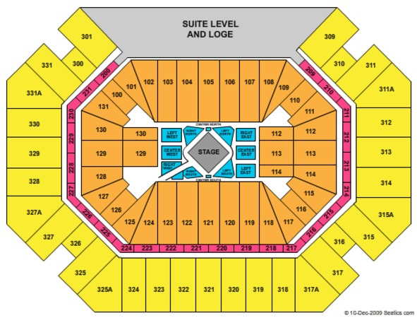 Thompson Boling Arena George Strait (CONSULT MAPS TEAM BEFORE USING)