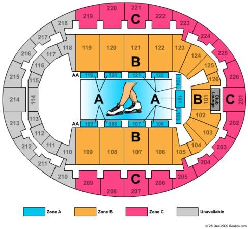 Snhu Arena Ice Show Zone