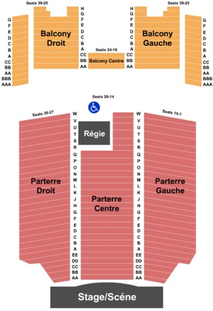 Olympia Theatre Tickets In Montreal Quebec Olympia