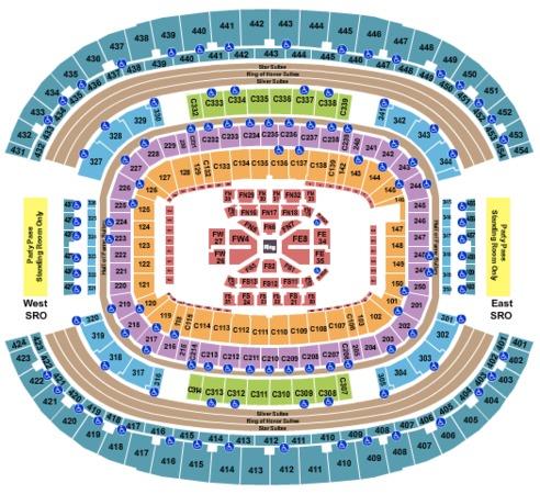AT&T Stadium Boxing