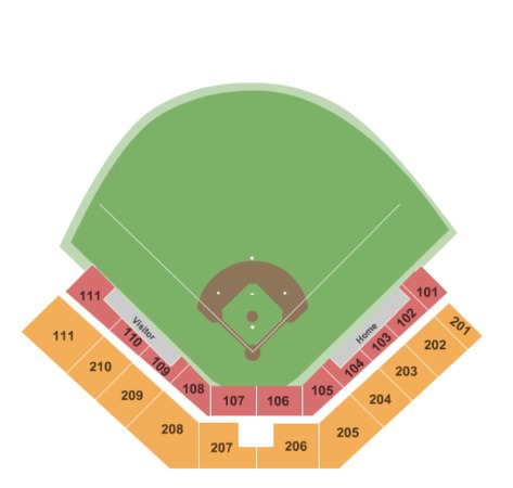 Foley Field Tickets In Athens Georgia Foley Field Seating Charts Events And Schedule