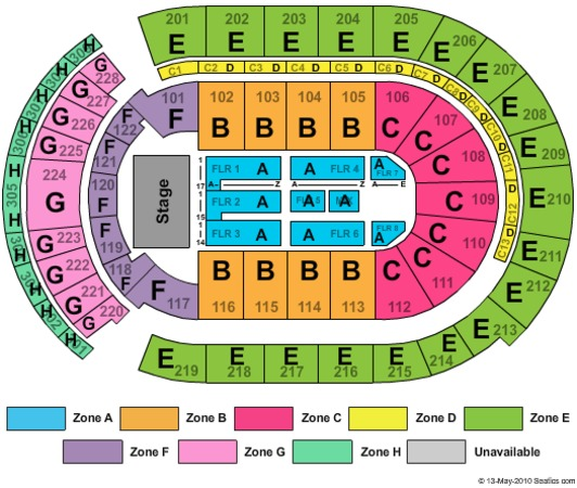 Nationwide arena tickets in columbus ohio nationwide arena seating