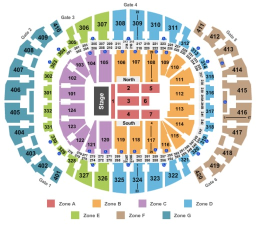 AmericanAirlines Arena Endstage Int Zone