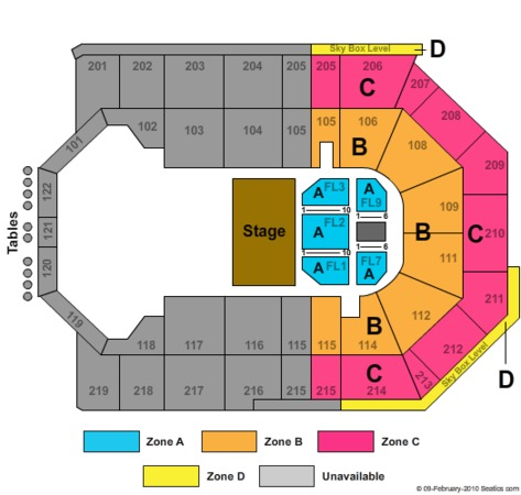 Citizens Business Bank Arena Celtic Woman Zone