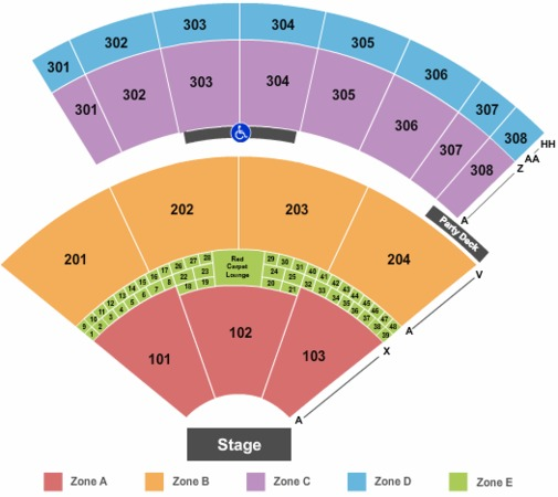 Mountain View Amphitheater Seating Chart Skinny Capris