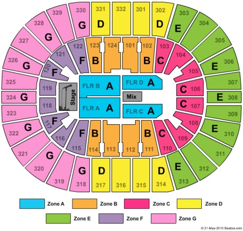 Smoothie King Center Tickets In New Orleans Louisiana