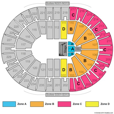Amway Arena Celtic Woman Zone