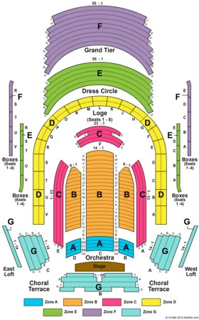 Meyerson Symphony Center Seating Chart Chicago