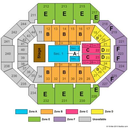 Rupp arena tickets in lexington kentucky rupp arena seating charts
