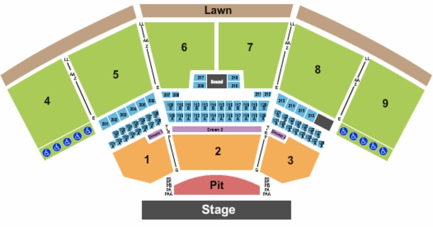 Keybank Pavilion Tickets In Burgettstown Pennsylvania