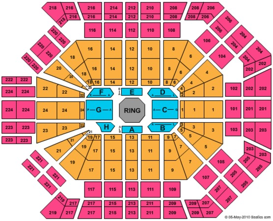 Mgm Grand Garden Arena Tickets In Las Vegas Nevada Seating Charts Events And Schedule