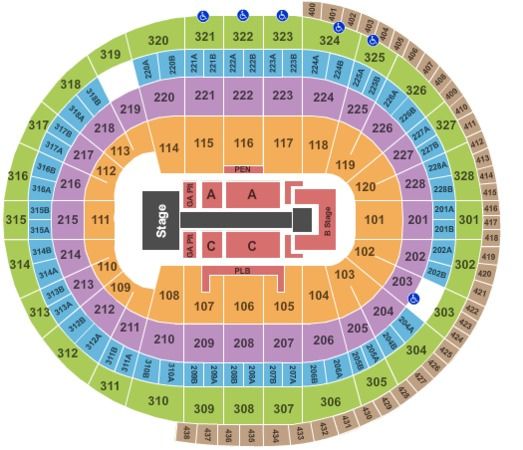 Canadian Tire Centre Taylor Swift