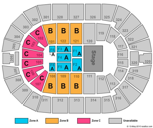 BOK Center Celtic Woman Zone