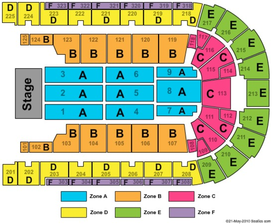 Boardwalk hall atlantic city seating chart elcho table