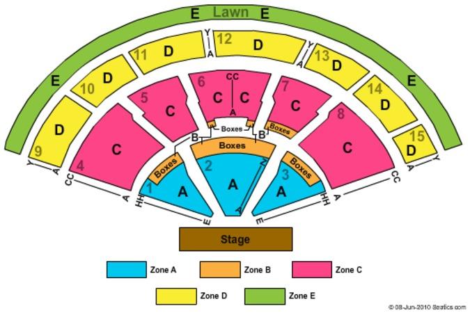 Xfinity Center Tickets In Mansfield Massachusetts Xfinity