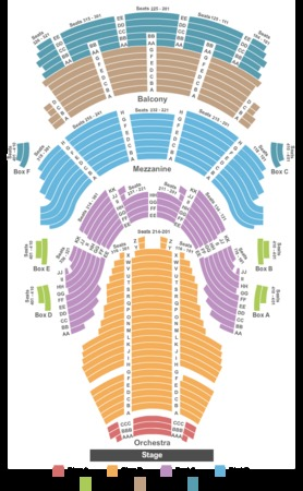 The Concert Hall New York Tickets Schedule Seating Chart