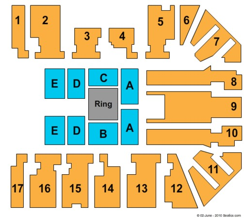 LG Arena WWE