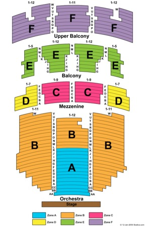 Paramount Theater Austin Texas Seating Chart Awesome Home