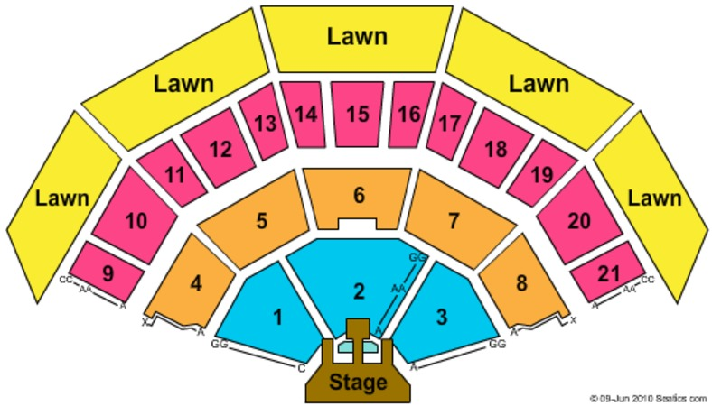American Family Insurance Amphitheater Jonas Brothers (CONSULT MAPS TEAM BEFORE USING)